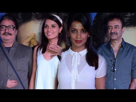 Mugdha Godse, Richa Chadda, Rajkumar Hirani At Hun