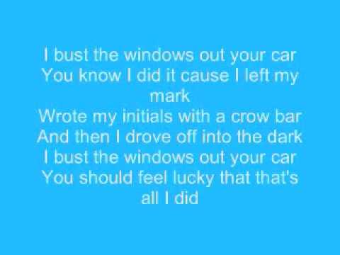 Jazmine Sullivan - I'll Bust Your Windows Out Your Car (Lyrics)