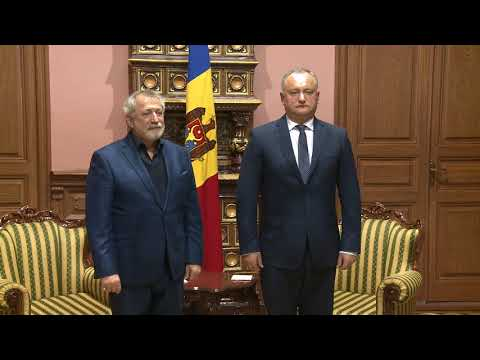Moldovan president awards state order to Russian choreographer