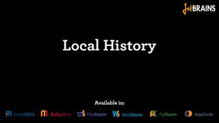 Using Local History for code changes tracking