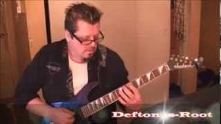 Deftones - Root - Guitar Lesson by Mike Gross(rockinguitarlessons.com)