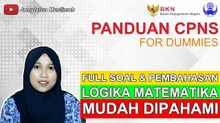 Download Video LATIHAN SOAL TERBARU, TIPS TRIK SEDERHANA TKD TIU LOGIKA PALING SERING MUNCUL DISELEKSI CPNS 2018 MP3 3GP MP4