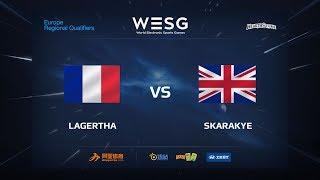 LAGERTHA vs Scarakye, game 1