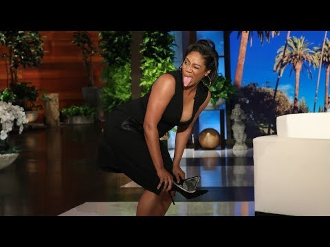 Tiffany Haddish Demonstrates Lazy Stripper Moves