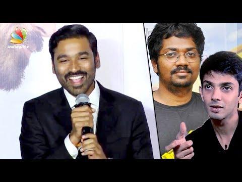 Sean Roldan made VIP 2 better: Dhanush Speech | Velai illa Pattathari Songs AL | Kajol, Amala Paul [Part 1]