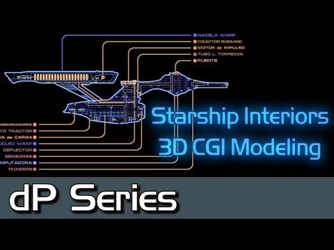 Inner Space 1.1: Modeling 3D Interiors on Starships [Star Trek]
