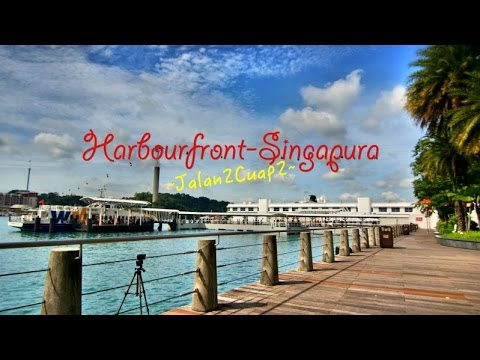 video menyebrang ke harbourfront � singapura