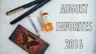 """AUGUST FAVORITES  2016Hi guys don't forget to watch this video on HD mode!Seperti biasaaaaa, aku sharing produk-produk yang jadi favorit aku selama bulan August 2016.Have you watch my """"ONE-BRAND TUTORIAL  MAKE UP FOREVER"""" ?https://youtu.be/ee7AgqkedJgPLEASE HELP ME GROW MY CHANNEL! :)—— THUMBS UP AND SUBSCRIBE —— ———————————————————————————————————Products mentioned (NOT IN ORDER) :--- L'oreal Hair Treatment Oil for Coloured-Hair.--- Benefit Cosmetics BrowVo Primer and Conditioning--- Benefit Cosmetics Brow Gel #5.--- Pixi Glow Tonic.--- Kat Von D Monarch Palette.--- GHD Flat Iron.--- Ofra Cosmetics Laguna Beach Liquid Lipstick.--- Bprjouis Healthy Glow Foundation Light Beige #53.I  N S T A G R A M —&-- T W I T T E R :http://www.instagram.com/sorayahylmihttp://www.twitter.com/sorayahylmiB E A U T Y   B L O G :http://www.ayabeautytips.blogspot.com--------------------------------------------------------------------------------------Video taken with :— SONY A5100Edited with :— iMovie-------------------------------------------------------------------------------------- — All products mentioned in this video were not being sponsored by any companies. I bought several of them with my own money. Some them are being sent to me. Honest Review. ---"""