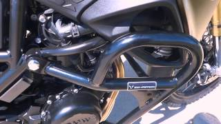 6. 2013 BMW F800GS SW-Motech Crash Guards