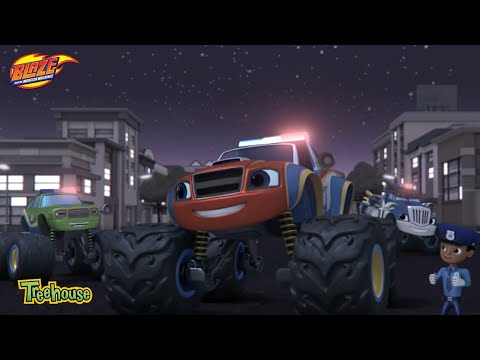 Blaze and the Monster Machines | Blazing Amazing Stories Clip | Treehouse