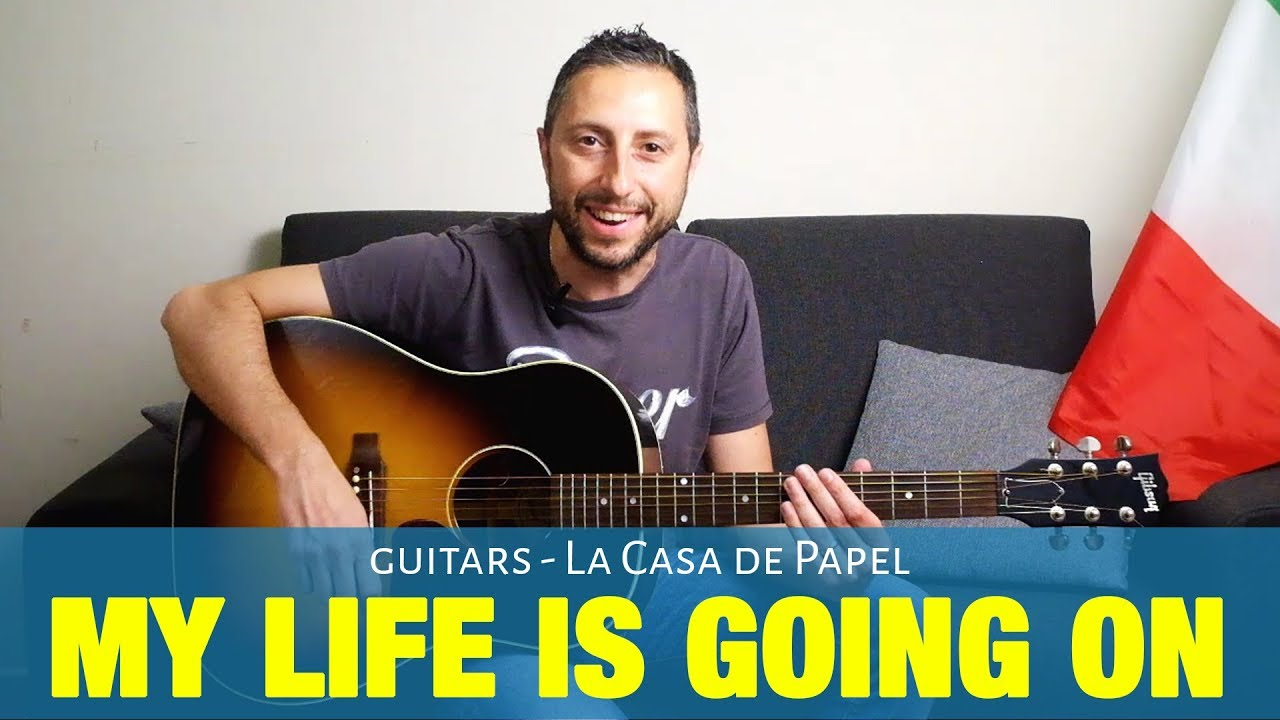 La Casa de Papel | My Life Is Going On Guitar Acoustic and Electric