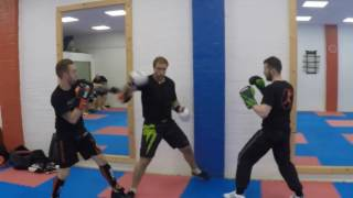 Multiple Sparring (Technique Practise)