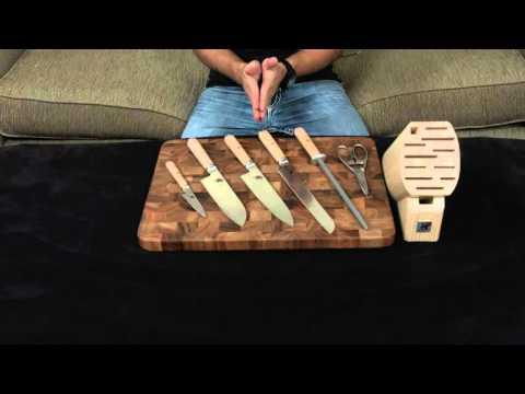 Miyabi Birchwood 7 Piece Knife Set — Review and Information.