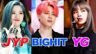 Video Most Popular KPOP Groups of each Agency MP3, 3GP, MP4, WEBM, AVI, FLV Juli 2019