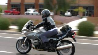 10. Chasing my wife on her BMW R1200ST through Phoenix