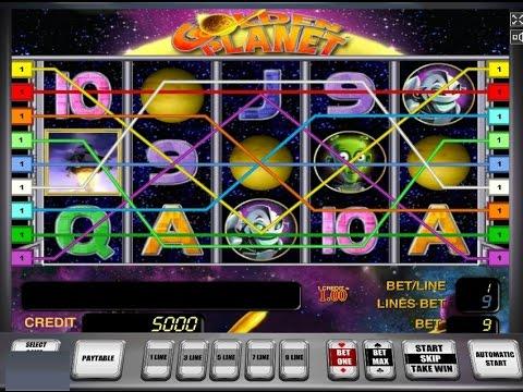 Секрет игрового автомата Золотая планета (Golden planet)