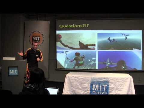 Physics of Skydiving: Andrew Horning at K12Live! (MIT Museum Second Fridays, 1-10-14)