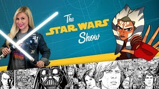 In this installment of The Star Wars Show, we talk to Ashley Eckstein about returning to play Clone Wars-era Ahsoka Tano on Star Wars: Forces of Destiny, reveal Star Wars Rebels Season 3 on Blu-ray and DVD, highlight James Raiz's amazing fan art, and more!Watch more of The Star Wars Show at https://www.youtube.com/playlist?list=PL148kCvXk8pBjG-JOhlIU6rWzLyA2O2anVisit Star Wars at http://www.starwars.comSubscribe to Star Wars on YouTube at http://www.youtube.com/starwarsLike Star Wars on Facebook at http://www.facebook.com/starwarsFollow Star Wars on Twitter at http://www.twitter.com/starwarsFollow Star Wars on Instagram at http://www.instagram.com/starwarsFollow Star Wars on Tumblr at http://starwars.tumblr.com/