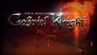Gabriel Knight: Sins of the Fathers 20th Anniversary Edition Trailer