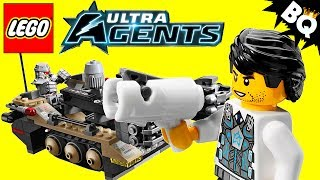 LEGO Ultra Agents Tremor Track Infiltration 70161 Review