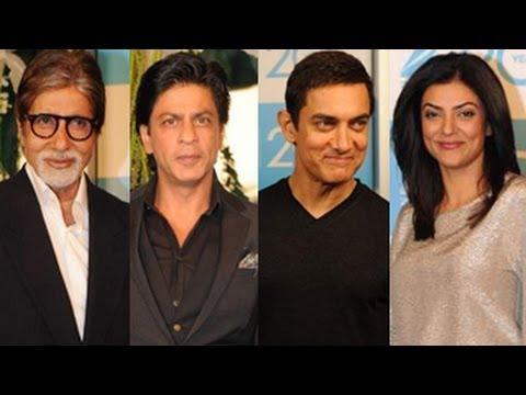 Amitabh Bachchan, Shahrukh & Aamir Khan @ Zee's 20