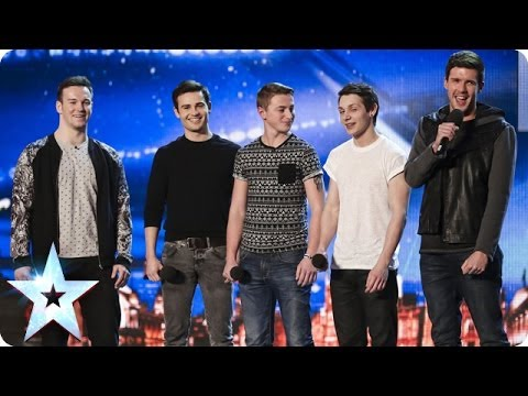 sing - See more from Britain's Got Talent at http://itv.com/talent Looking like a standard boyband, Collabro had a trick or two up their sleeve. Have a look at how ...