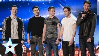 Video Collabro sing Stars from Les Misérables | Britain's Got Talent 2014 MP3, 3GP, MP4, WEBM, AVI, FLV Januari 2018