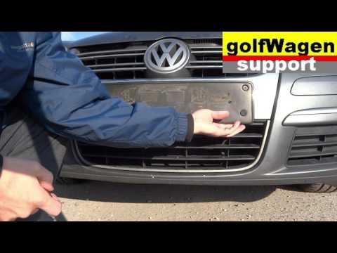 VW Polo, VW Golf, VW Passat  ambient temperature sensor replacing