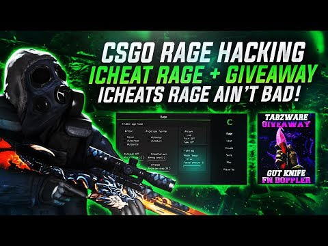 CSGO - ICHEAT MM RAGE HACKING + DOPPLER KNIFE GIVEAWAY [RAGE] #1