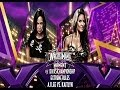 WWE 2K14: AJ Lee vs Kaitlyn- Extreme Rules Title Unification Match