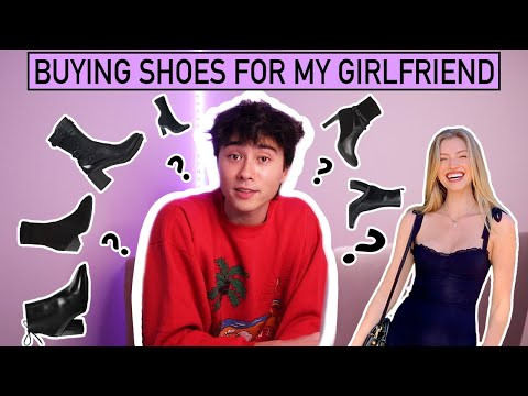Buying Shoes For my Girlfriend видео