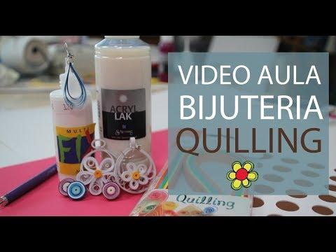 Bijuteria em Quilling