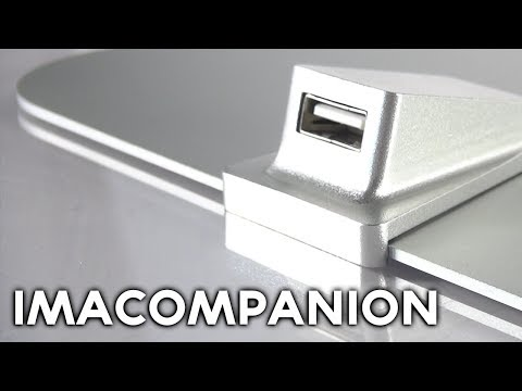 IMacompanion: Front USB Access For IMac (Macworld/iWorld 2014)