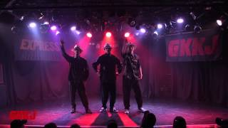 GDS (バファリン & Aジロー & KELO) – GKKJ PRESENTS「EXPRESS vol.10」Guest Dance