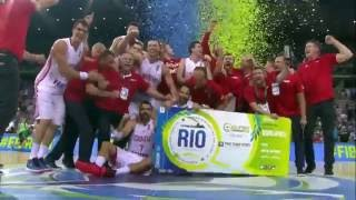 Hrvatska košarkaška reprezentacija - Put do Rija