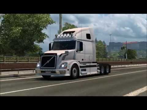Volvo VNL 670 adapted for ETS2 1.21.x