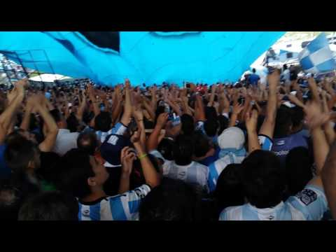 Recibimiento de Racing frente a Independiente - La Guardia Imperial - Racing Club