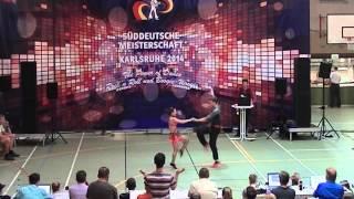 Anja Gentner & Christian Gartmeier - Süddeutsche Meisterschaft 2014