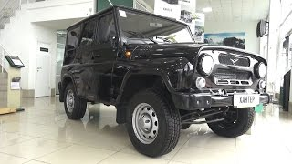 7. 2017 UAZ Hunter. Start Up, Engine, and In Depth Tour.