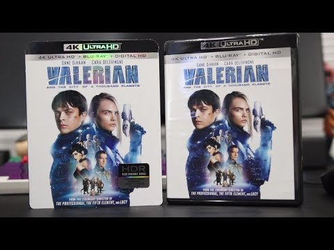 Valerian And The City Of A Thousand Planets 4K Blu-Ray Review