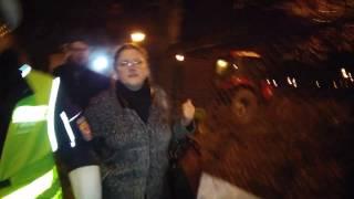 Będziesz siedzieć! – protestuący krzyczą do Pawłowicz.