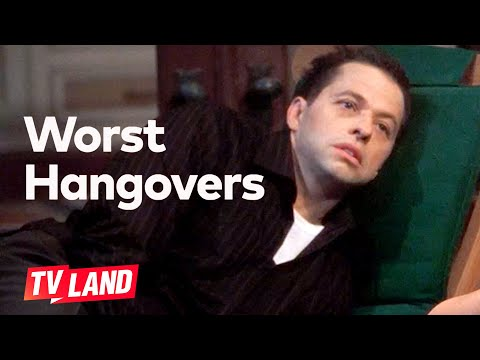 'I'm Never Going to Drink Again.' Worst Hangovers (Compilation) | Two and a Half Men | TV Land