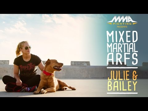 julie - Julie Kedzie, the Strikeforce and UFC veteran, women's mixed martial arts pioneer and now matchmaker for Invicta FC, discusses her life with dog, Bailey. Subscribe: http://www.youtube.com...