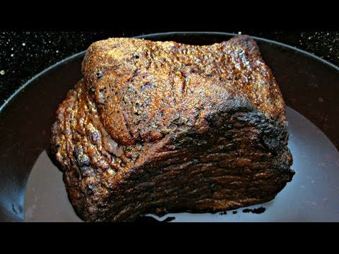 Texas Style Beef Brisket - Oven Roasted with Rub Recipe - PoorMansGourmet