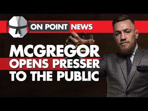McGregor Opens Presser To The Public? MMA Community Reacts To Yamamoto, Woodley On Next Fight