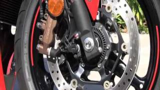 4. Honda Explains unique Combined ABS Braking system for CBR 2010