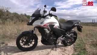 9. Prueba Honda CB 500 X