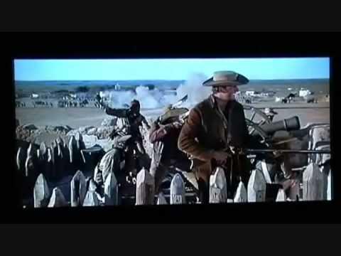 Tribute Western a el ALaMo By John Wayne-BaTTLe Texas-  10 th man down