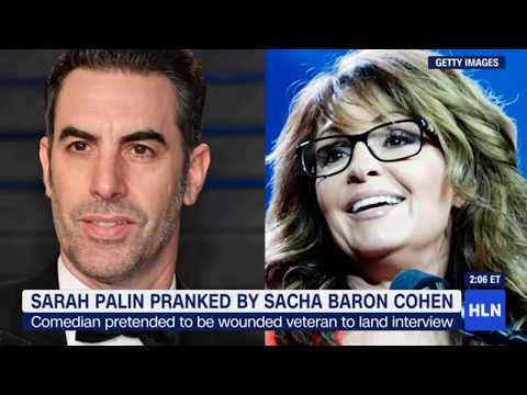 Sarah Palin pranked by Sacha Baron Cohen #YourThoughts?