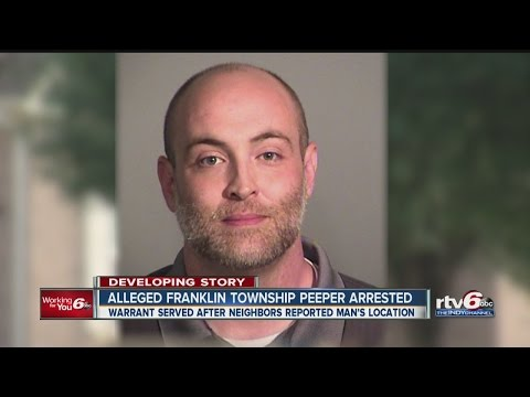 Alleged Franklin Township peeper arrested